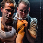 Scott Nickley and Michael Parrott in THRILL ME at Diversionary Theatre. Photo by Darren Scott