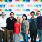 The Amazons Cast with Jerry Smithson, Production Sponsor