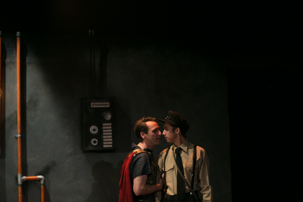 John DeCarlo as THE MAN and Jewels Weinberg as THE BOY