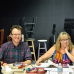 Chamaine Reed, Stage Manager with Director Matt M. Morrow