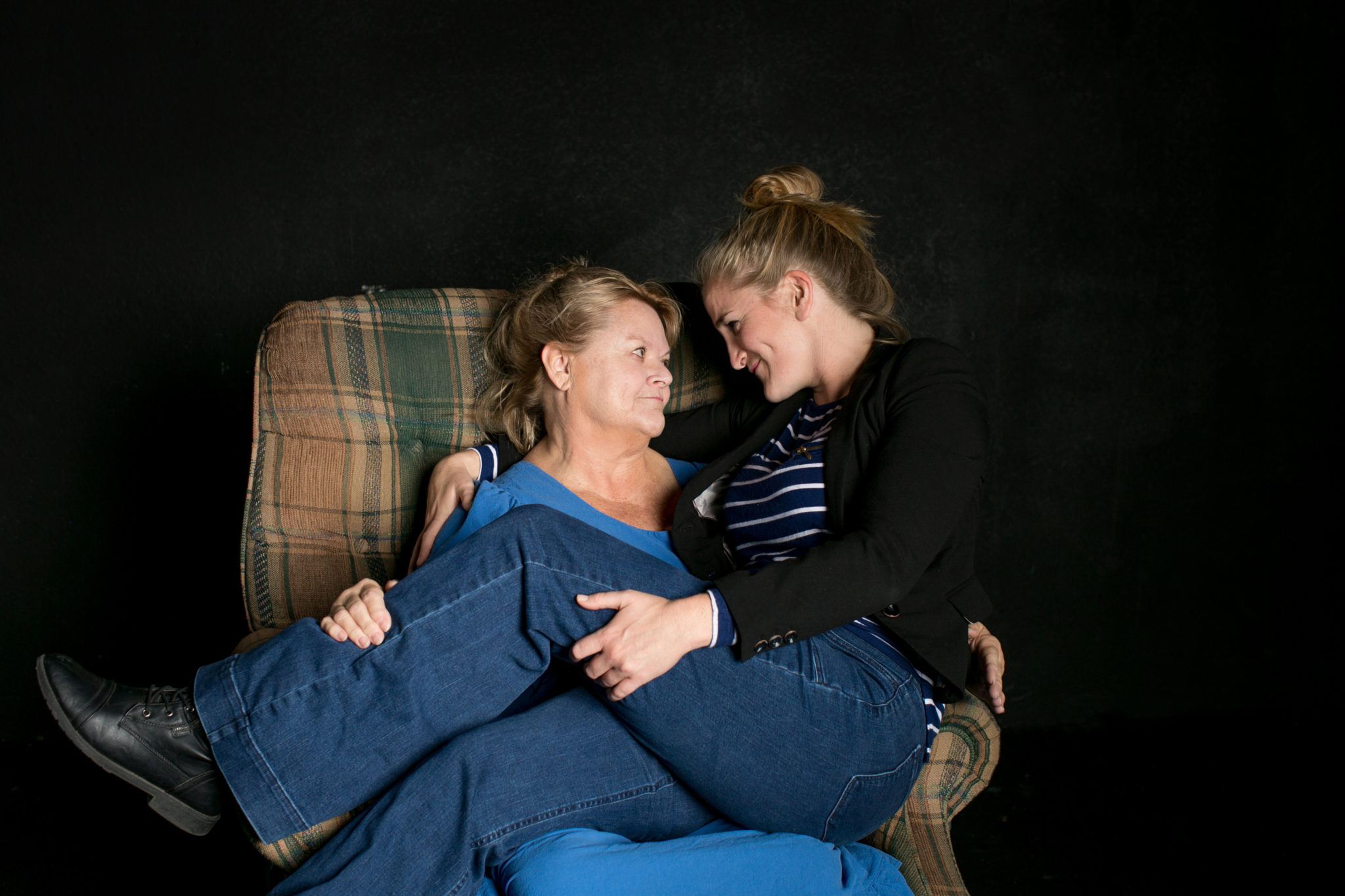 "Samantha Ginn and Annie Hinton in ""Well"""