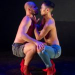 "Andrew Holmes and Nicholas Strasburg in ""Are You Ready?"""