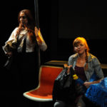 Mitzi Michaels & Sarah Errington in Marry Me a Little at Diversionary Theatre, September 2013. Photo: Ken Jacques.