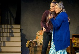 Samantha Ginn as Lisa and Annie Hinton as Ann in WELL by Lisa Kron (2)