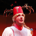 Tony Houck in She-Rantulas from Outer Space-in3D! at Diversionary Theatre. Photo ©Daren Scott