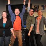 Pictured (l-r): Heather Paton, Tony Houck, Tom Zohar, Karson St. John and Tim McKnight. Photo credit: Ken Jacques
